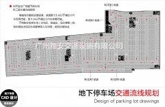 停车场交通流线规划