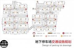 停车场交通设施布点